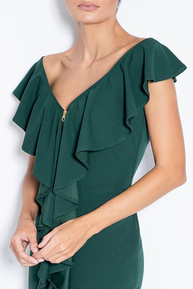 Adelina off-the-shoulder crepe midi dress Love Love  image 3