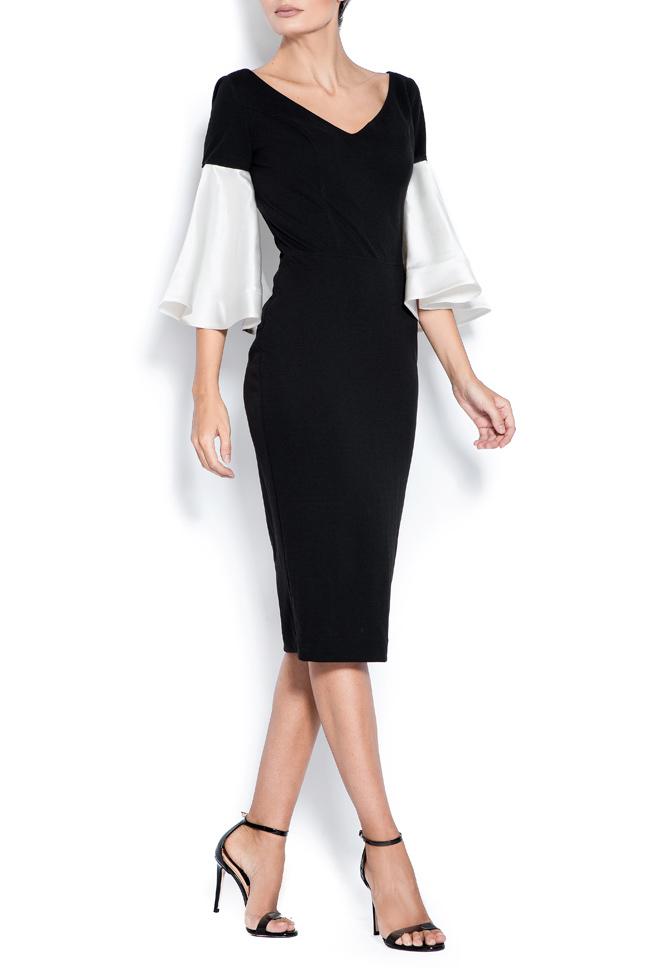Isadora taffeta crepe midi dress Love Love  image 1