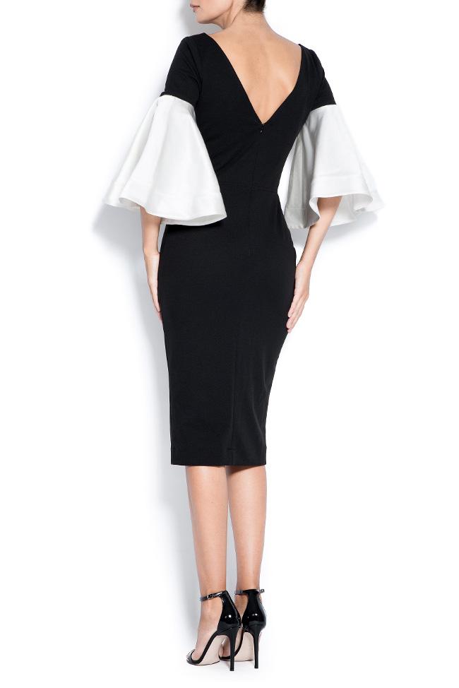 Isadora taffeta crepe midi dress Love Love  image 2