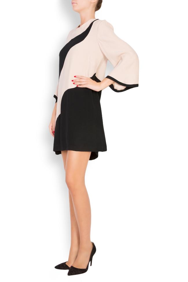 Robe bicolore en viscose Lena Criveanu image 1