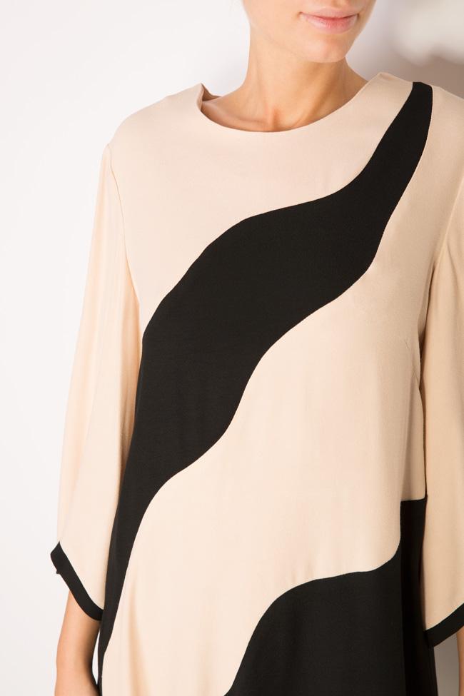 Robe bicolore en viscose Lena Criveanu image 3