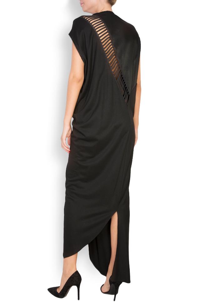 Robe asymétrique en laine Elena Perseil image 2