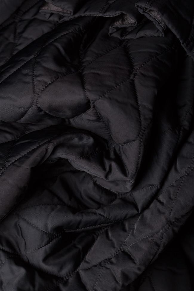 Manteau matellasé type tunique Elena Perseil image 4
