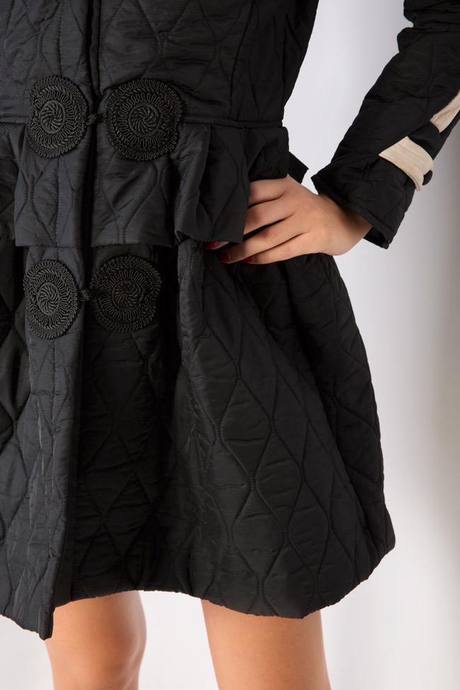 Manteau matellasé type tunique Elena Perseil image 3