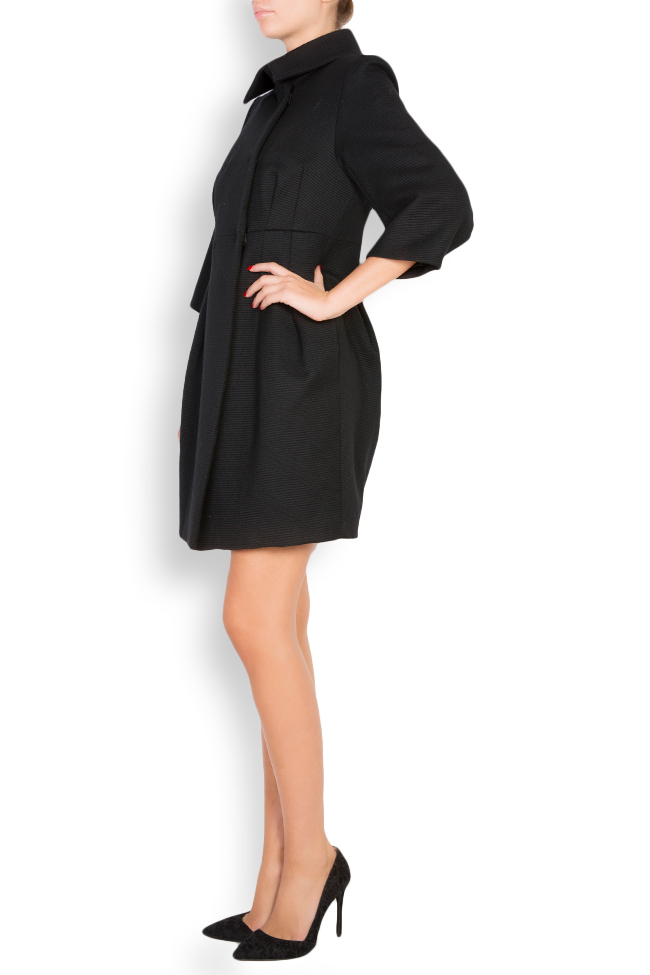 Manteau en tissu laine Elena Perseil image 1