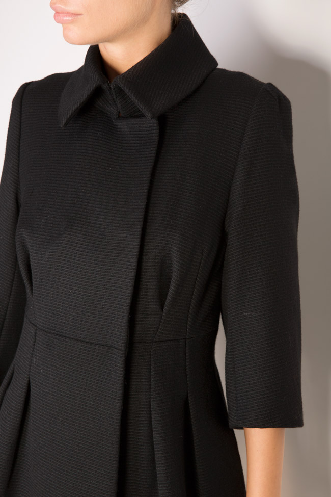 Manteau en tissu laine Elena Perseil image 3