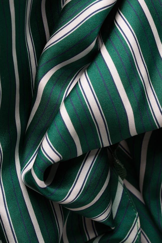Robe en soie avec manches brodées avec fil de soie Maressia image 4