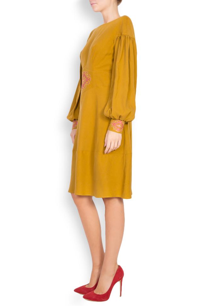 Embroidered cotton midi dress Maressia image 1