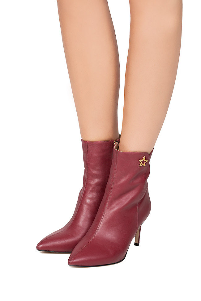 Leather ankle boots Ginissima image 3