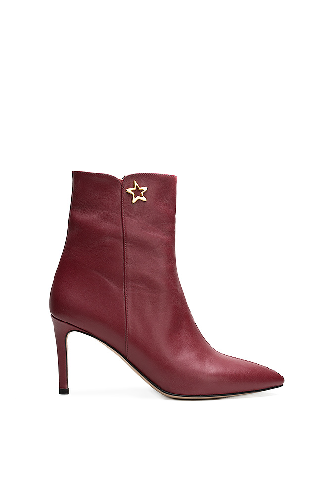 Leather ankle boots Ginissima image 0