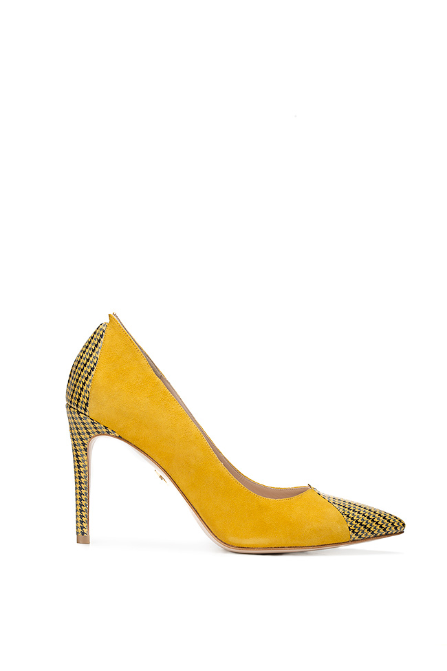 Alice90 two-tone suede pumps Ginissima image 0