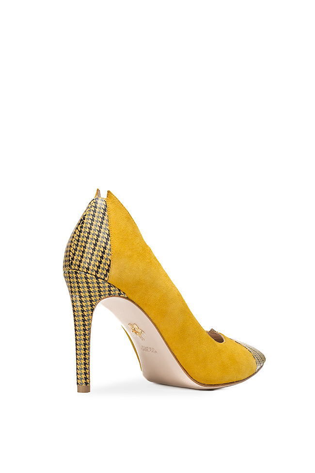 Alice90 two-tone suede pumps Ginissima image 1