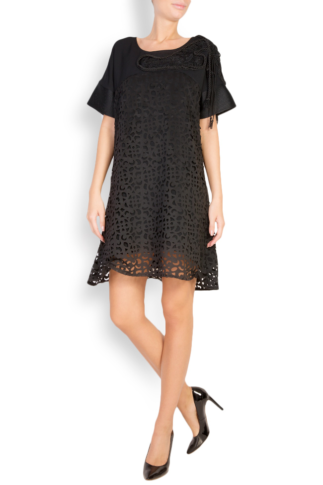 Embroidered lace mini dress Anamaria Pop image 0