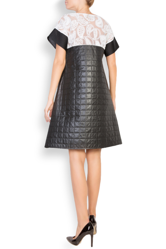 Quilted shell embroidered mini dress Anamaria Pop image 2