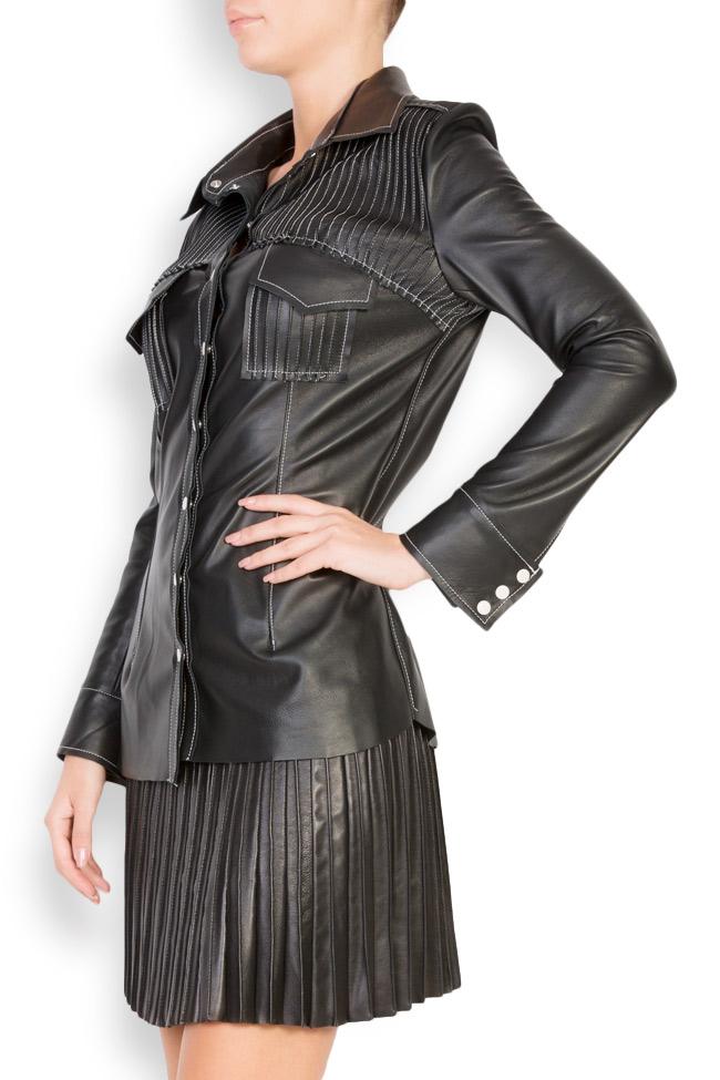 Leather shirt LUWA image 1