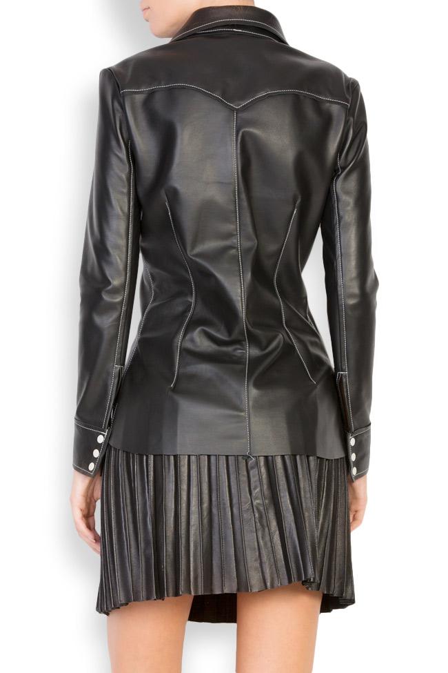 Leather shirt LUWA image 2