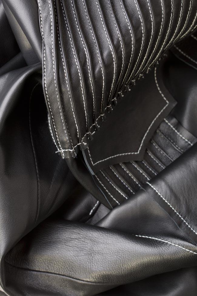 Leather shirt LUWA image 4