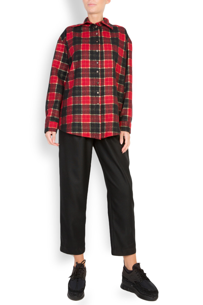 Checked wool shirt Cloche image 0