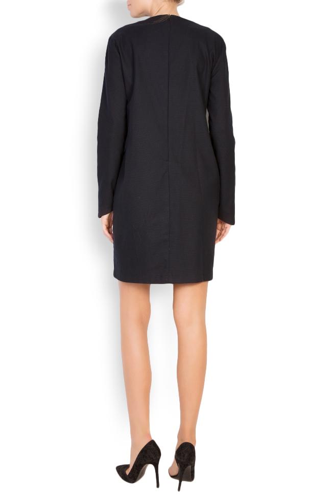 Sofia cotton mini dress Framboise image 2