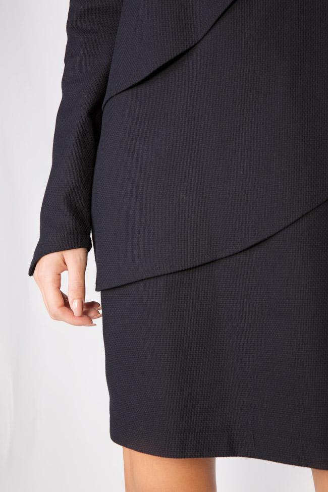 Sofia cotton mini dress Framboise image 3