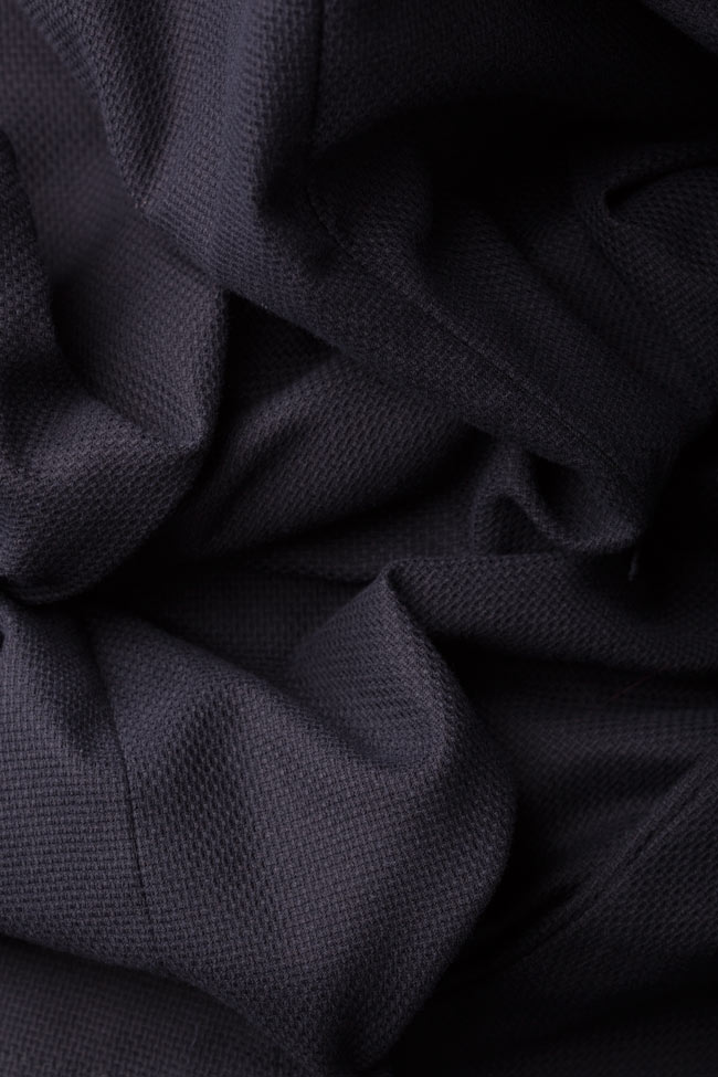 Sofia cotton mini dress Framboise image 4
