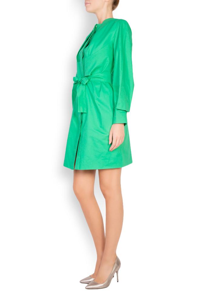 Robe en coton avec cordon Siena Framboise image 1