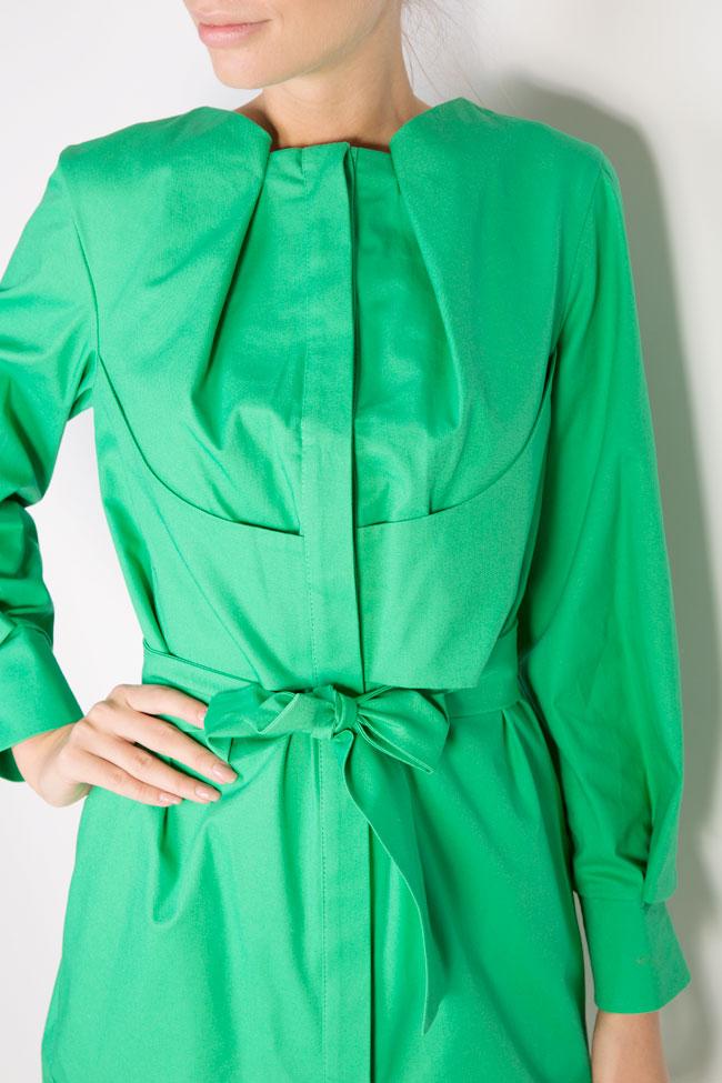 Robe en coton avec cordon Siena Framboise image 3