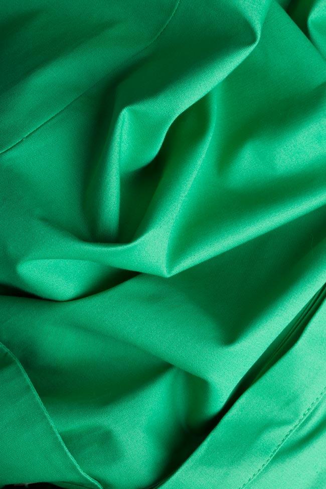 Robe en coton avec cordon Siena Framboise image 4