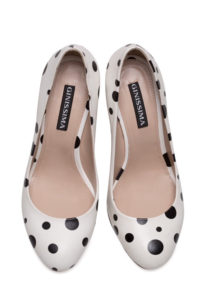 Chaussures en cuir Alice90 Perfecti Bubles Ginissima image 2