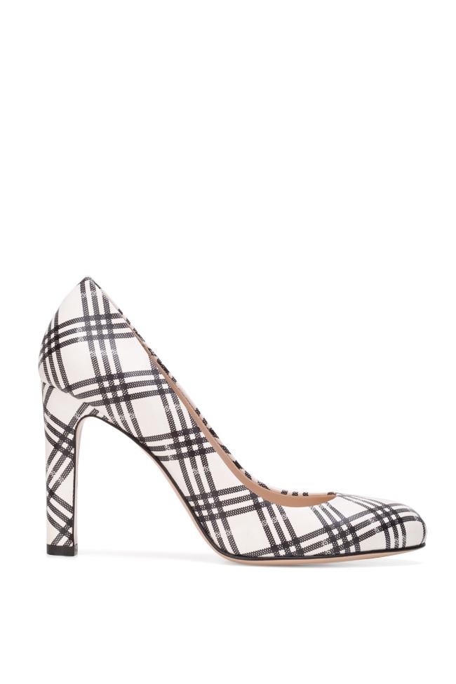 Pantofi din piele imprimata Agata90 Ginissima imagine 0