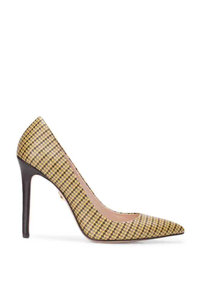 Pantofi din piele imprimata Alice90 Ginissima imagine 0