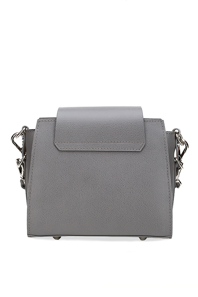 Rita textured-leather shoulder bag Catalin Onocan image 1