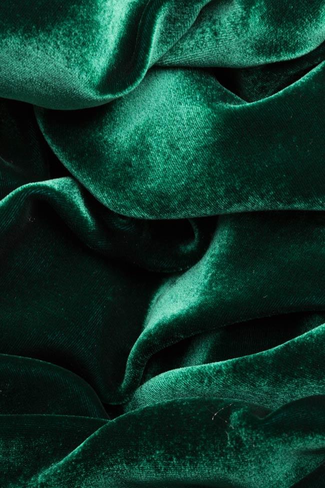 Veste en velours de soie avec cordon Aureliana image 5
