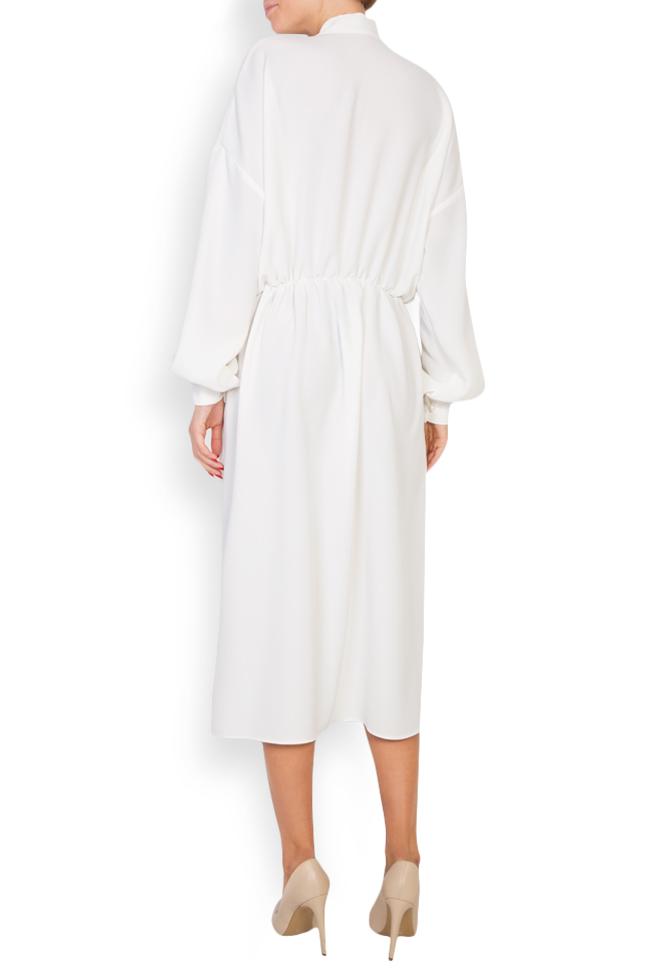 Robe en mélange de coton avec broderie apliquée Zenon image 2
