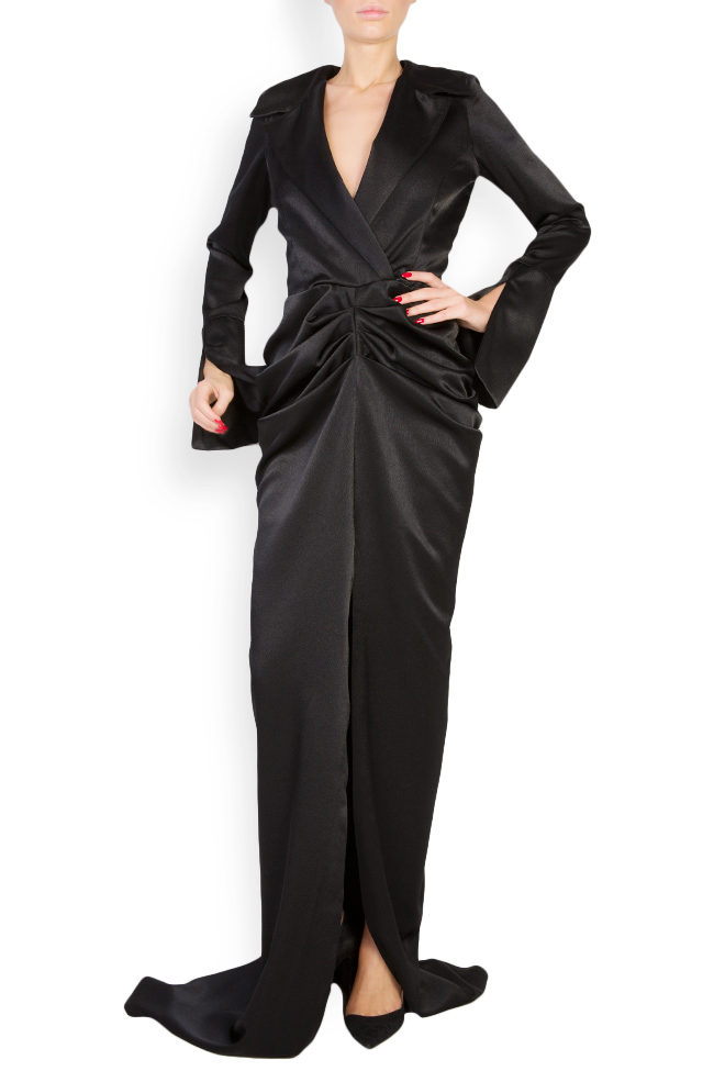 Vitoria silk satin maxi dress Vitoria image 0