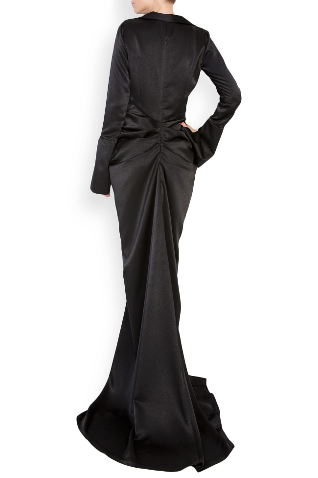 Vitoria silk satin maxi dress Vitoria image 2