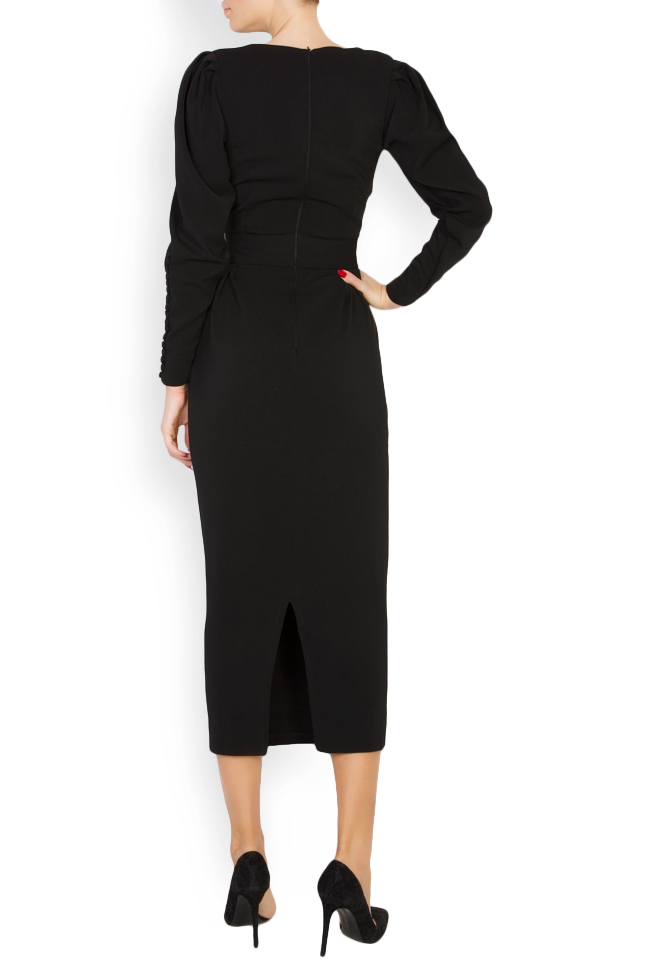 Amal silk-blend crepe midi dress Vitoria image 2