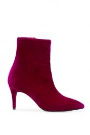 Mihaela Gheorghe Velvet ankle boots