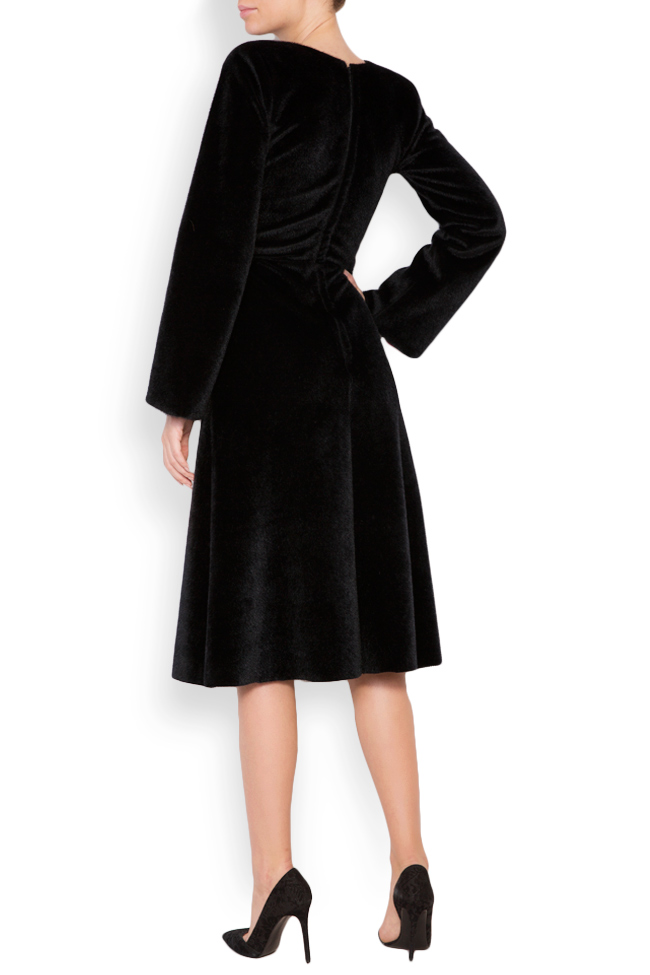 Faux-fur midi dress Lia Aram image 2