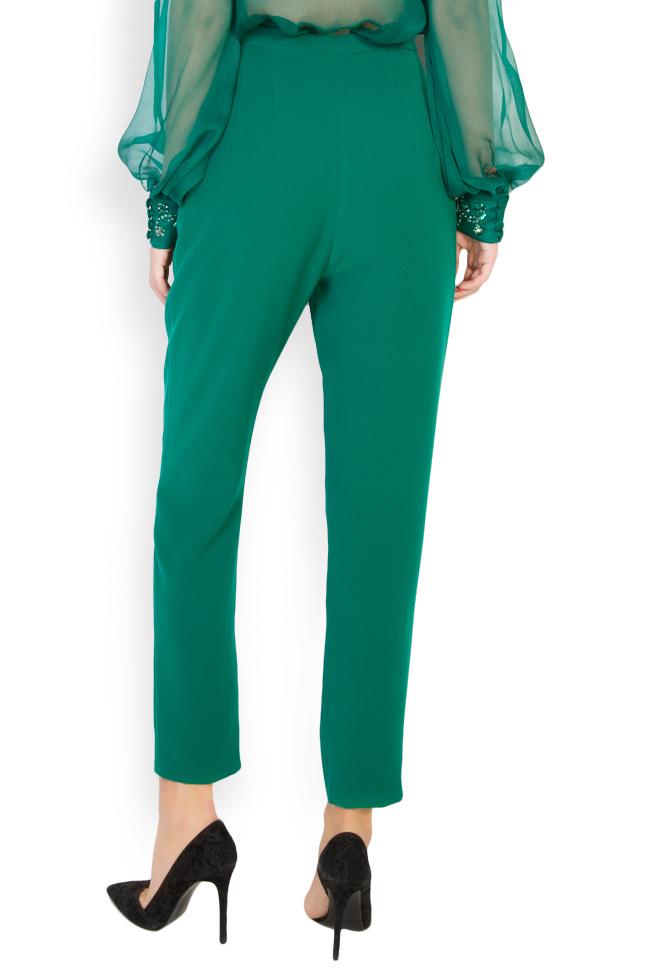 Ilma embellished crepe pants M Marquise image 3