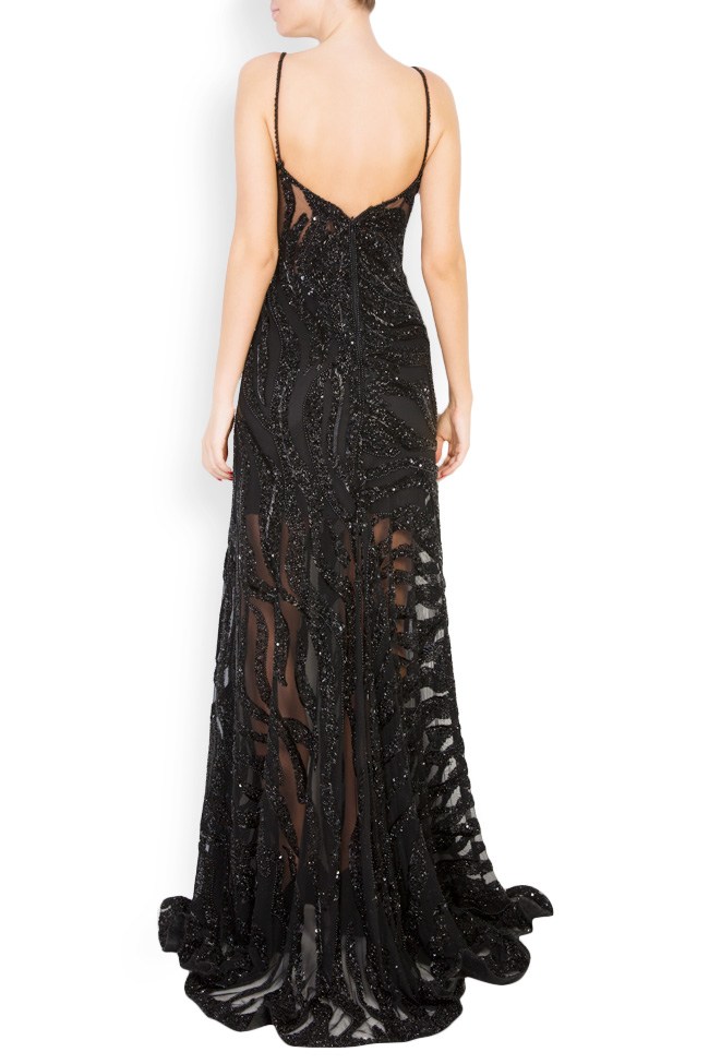Marissa embellished tulle gown M Marquise image 2