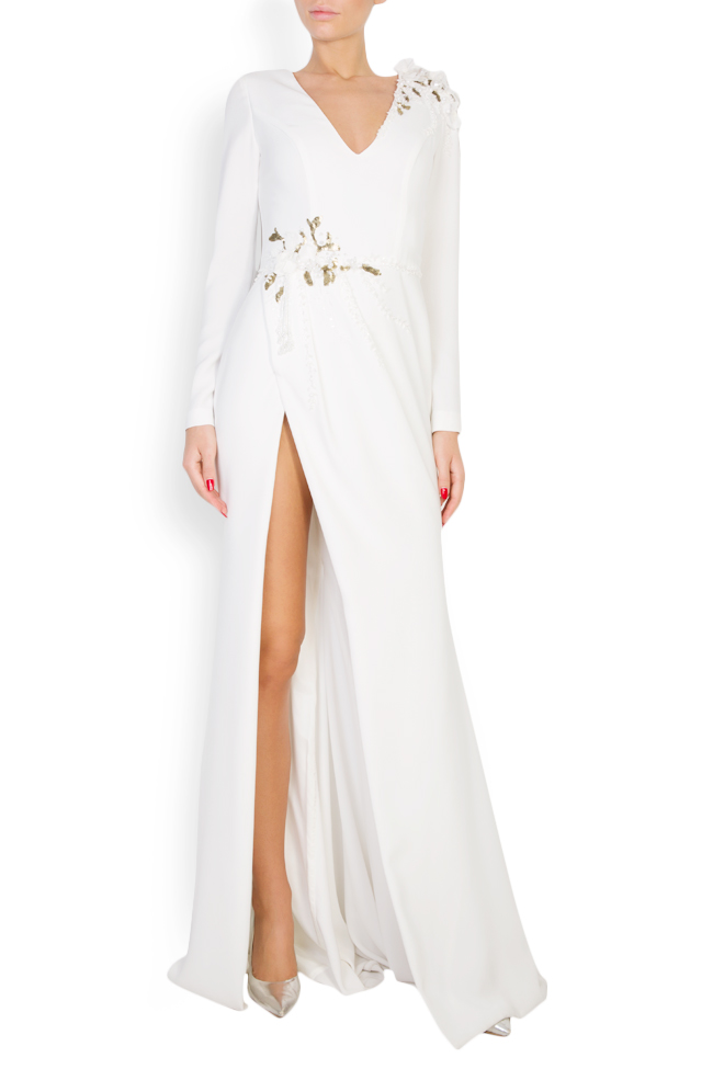 Tereza embellished crepe gown M Marquise image 0