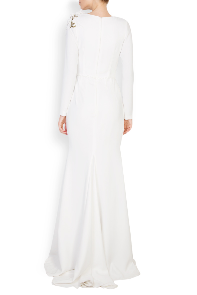 Tereza embellished crepe gown M Marquise image 2