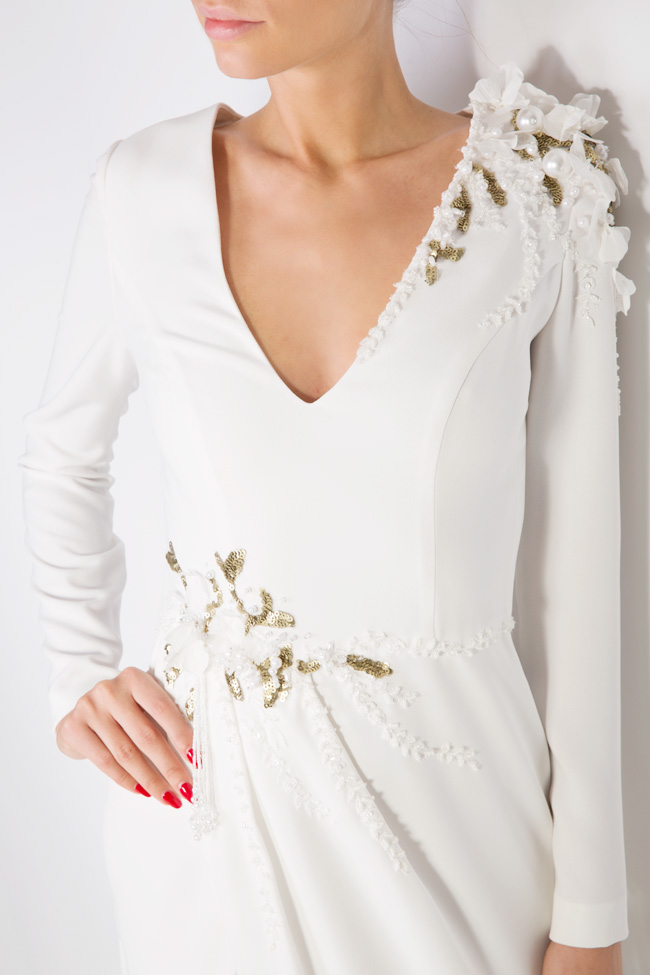 Tereza embellished crepe gown M Marquise image 3