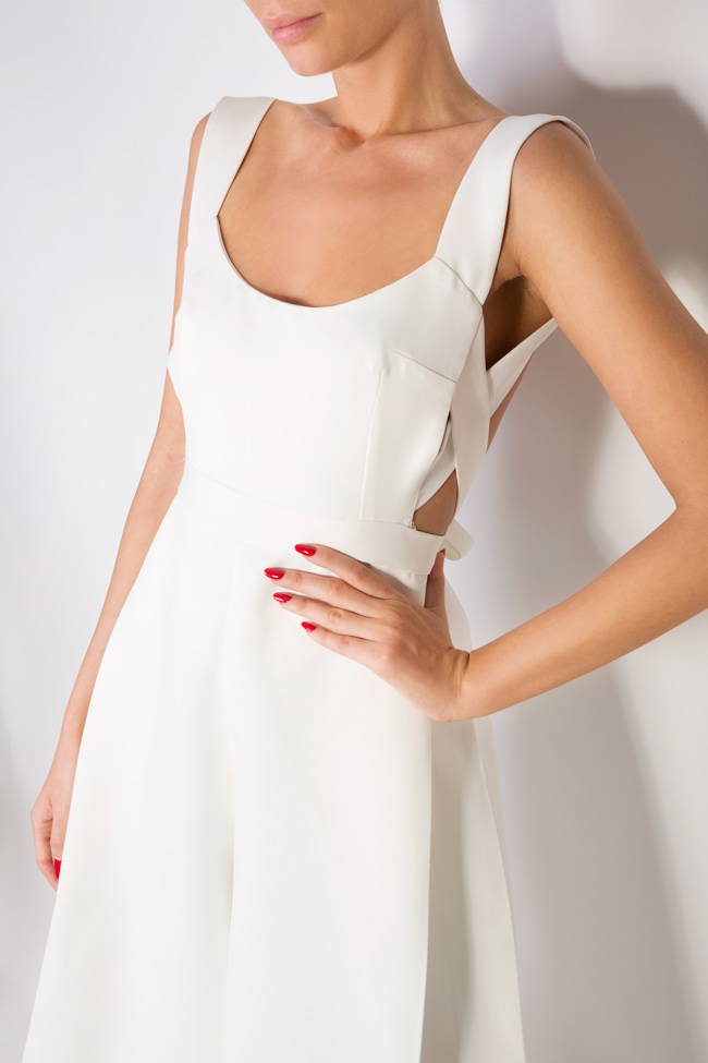 Open-back cotton jumpsuit Lia Aram image 3
