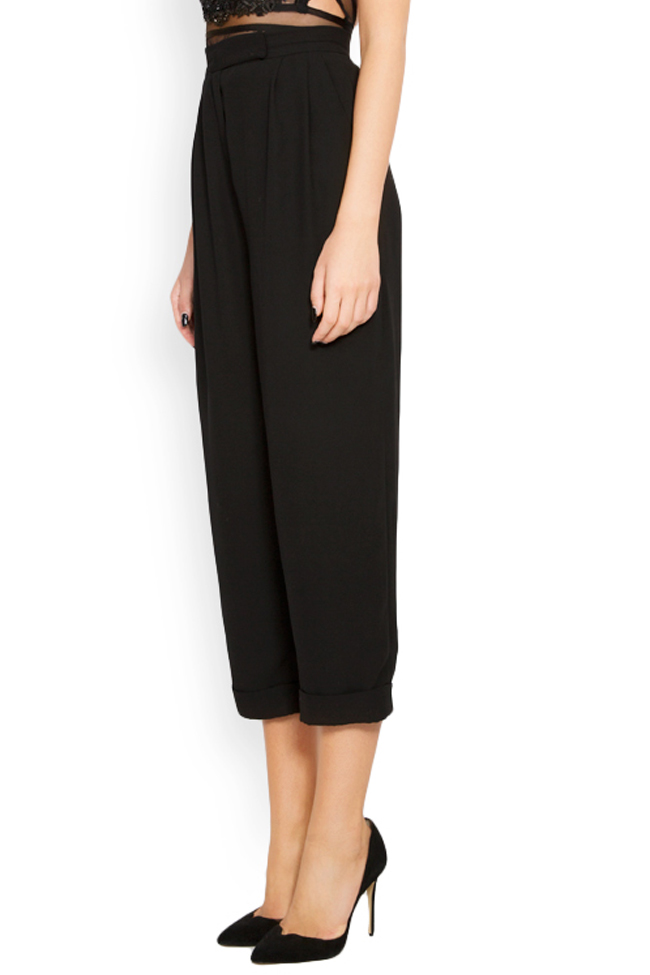 Crepe tapered pants Lia Aram image 1