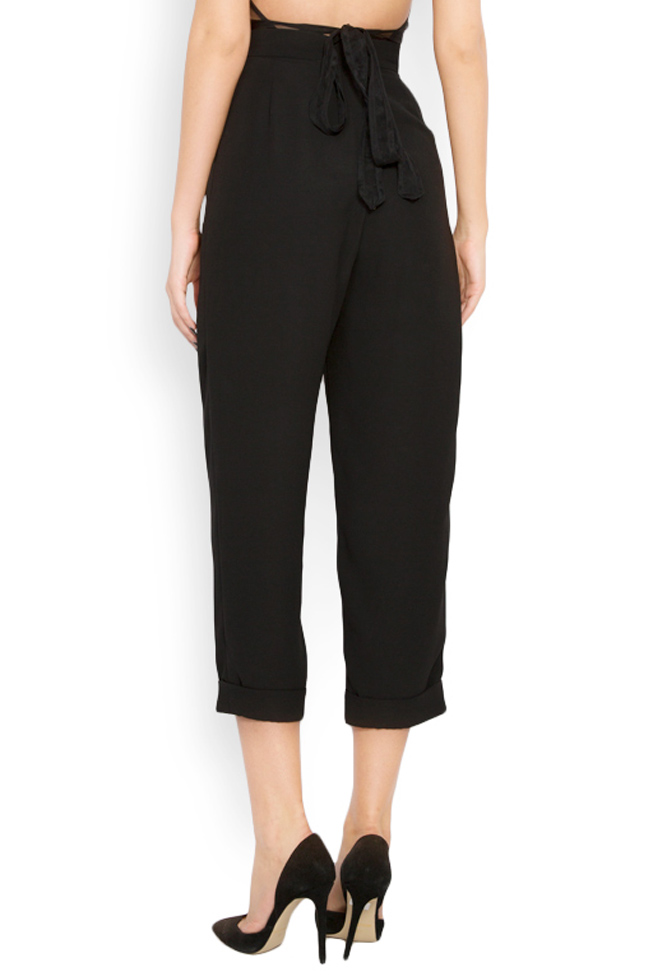 Crepe tapered pants Lia Aram image 2