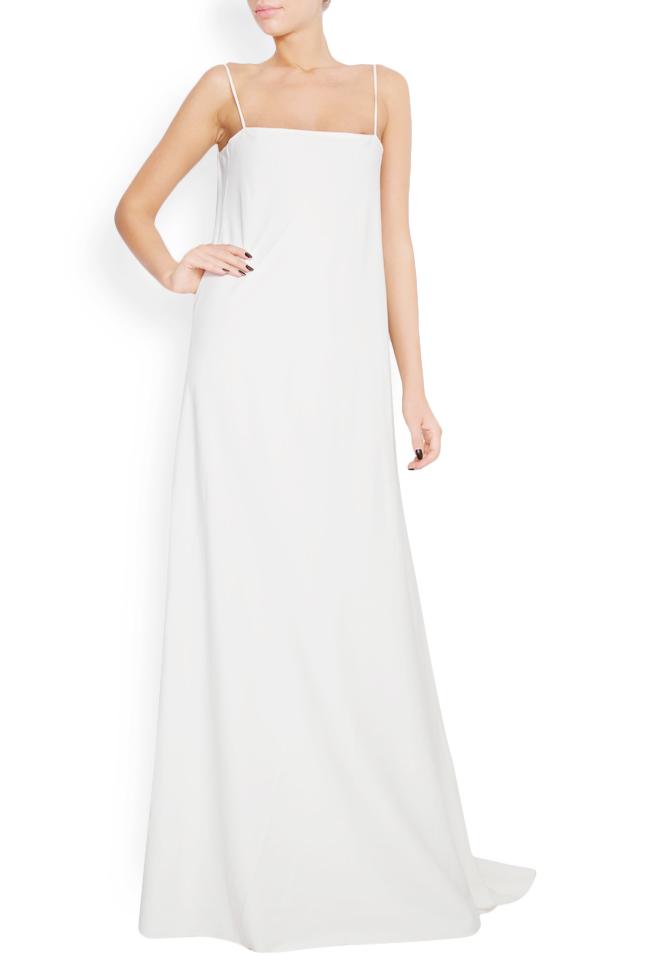 Open-back silk gown Lia Aram image 0