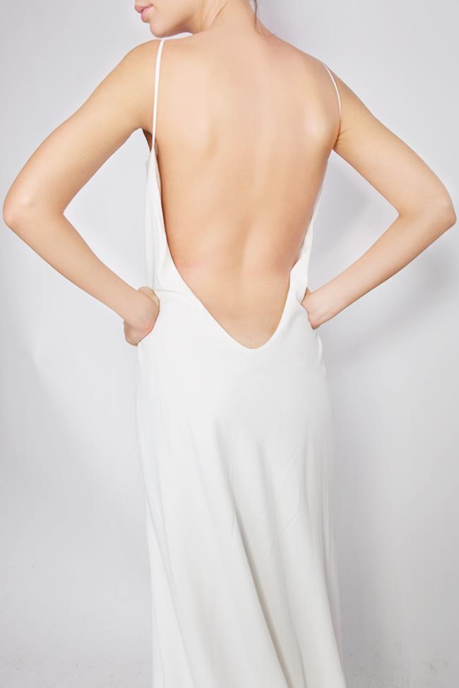 Open-back silk gown Lia Aram image 3