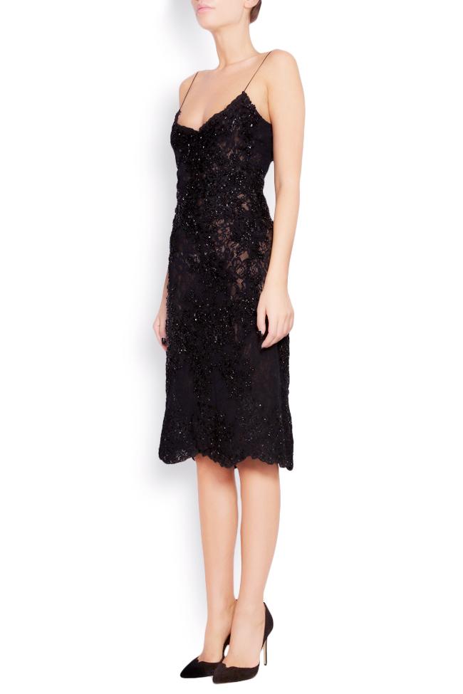 Embellished lace mini dress Lia Aram image 1
